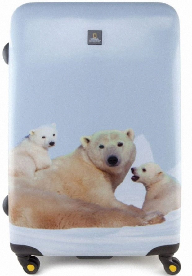 Чемодан National Geographic Polar bear 55 см