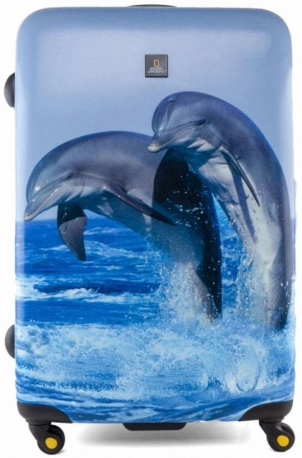Чемодан National Geographic Bottlenose dolphin 69 см