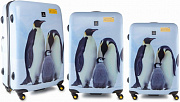 Комплект чемоданов National Geographic Emperor penguin